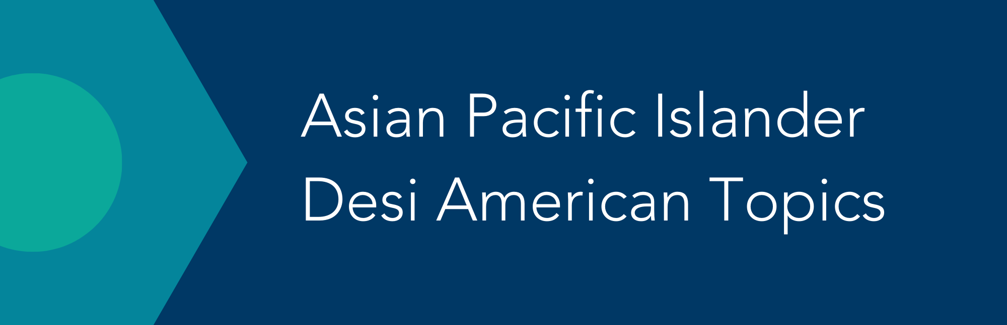 Asian Pacific Islander Desi American Topics