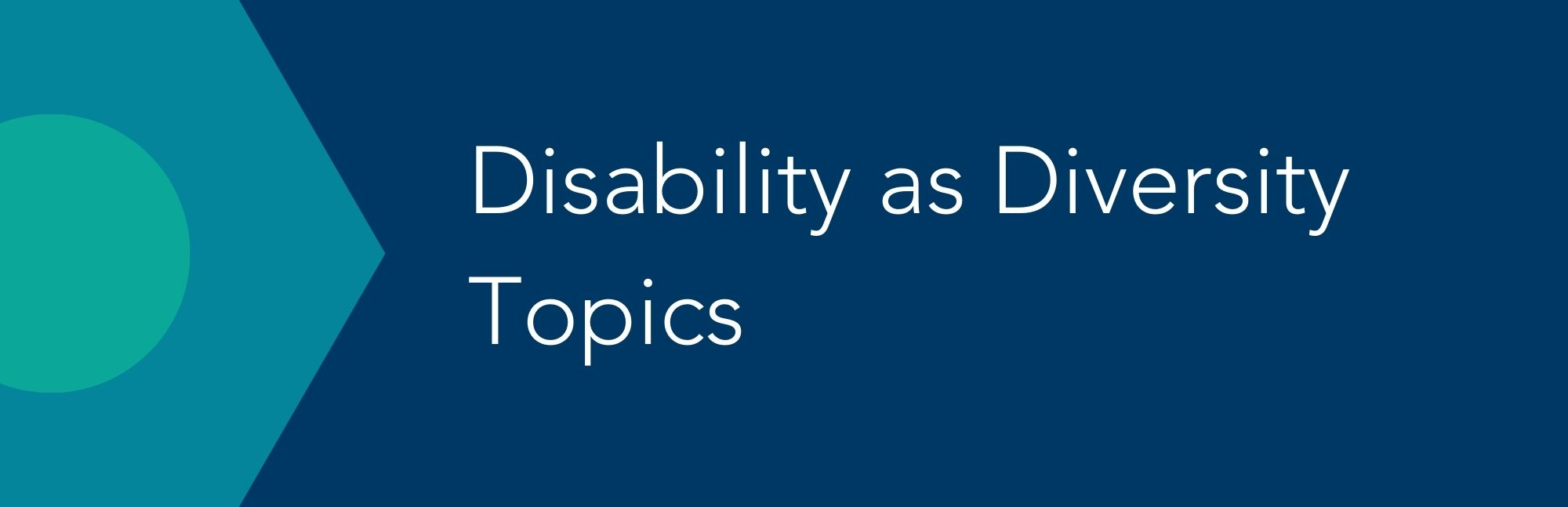 Disability Topics Button